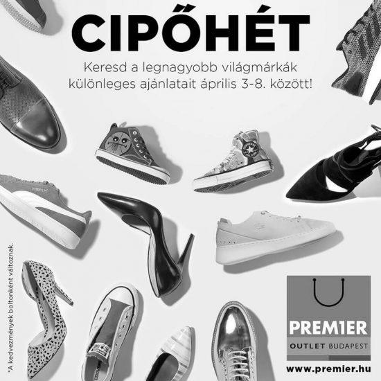 Premier Outlet cipőhét 2017.